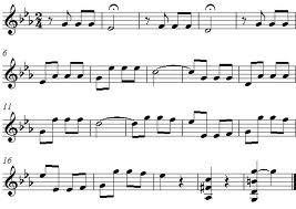 how to tell what key a song is in on sheet music