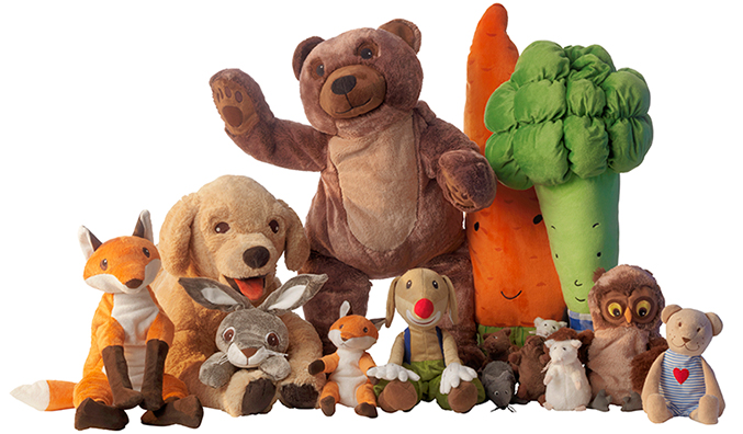 S Stuffed Toy Dogs