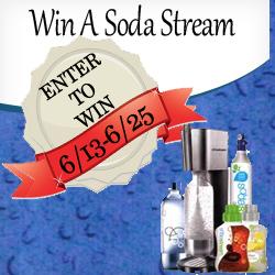 Win A SodaStream ends 6/25