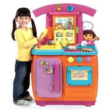 Dora the Explorer Fiesta Favorites Kitchen Review
