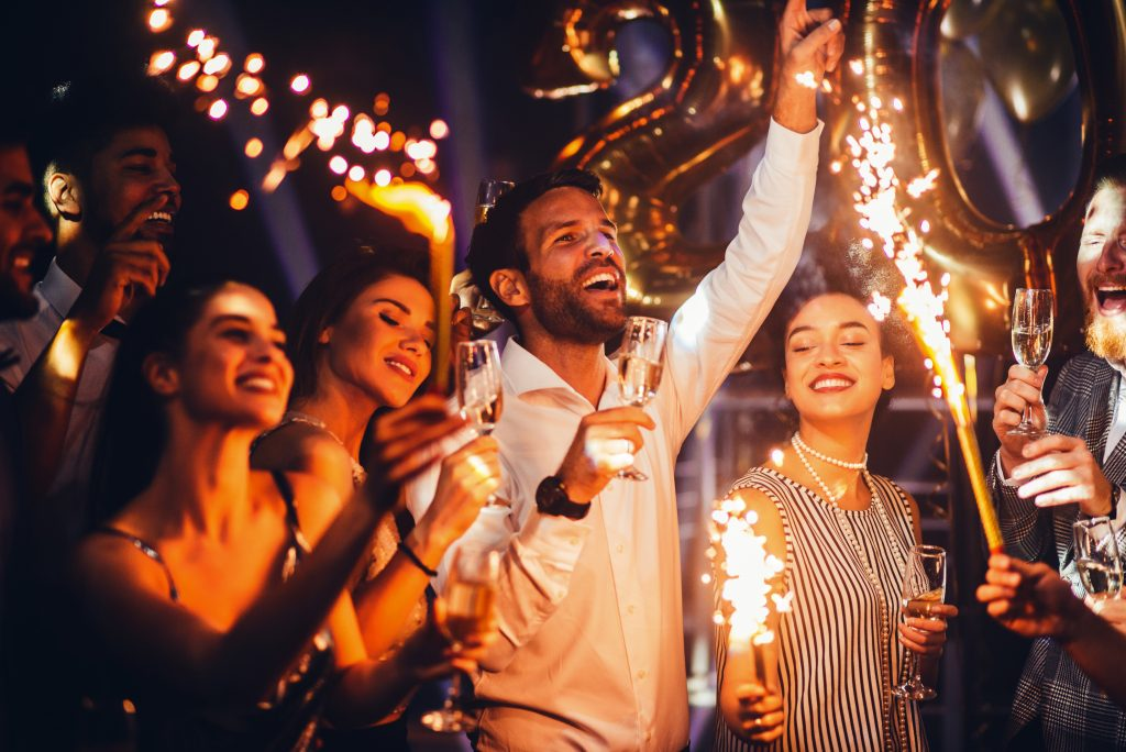 New Year's: A Party to Relieve Stress